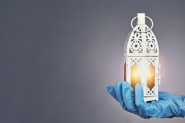 Ramadan 2020 in quarantaine Premium Foto