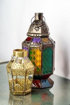 Ramadan en eid-lantaarn