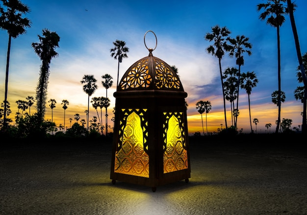 Ramadan kareem-lantaarn.