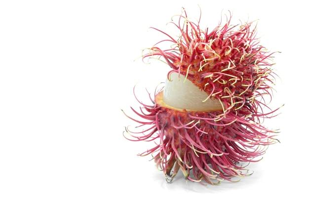 Ramboetan fruit macro