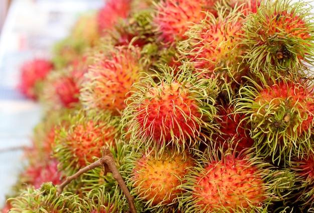 Rambutan is een tropisch fruit uit thailand.