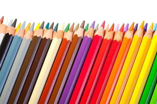 Rand van potloden met copyspase