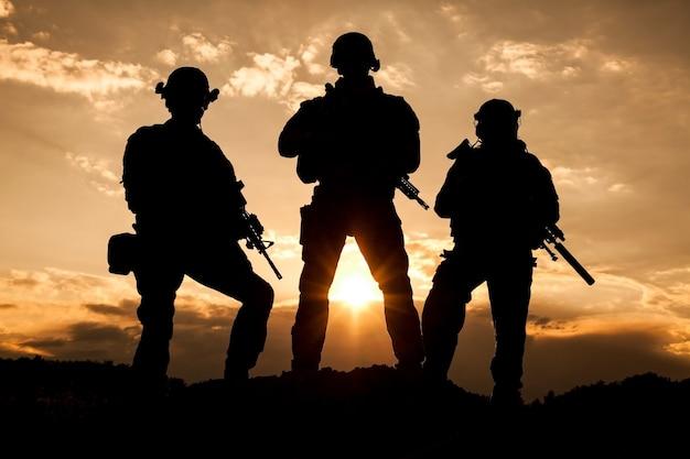 Rangers van het amerikaanse leger