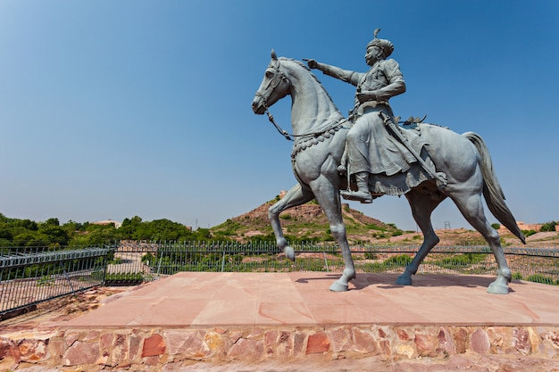 Rao jodha-standbeeld