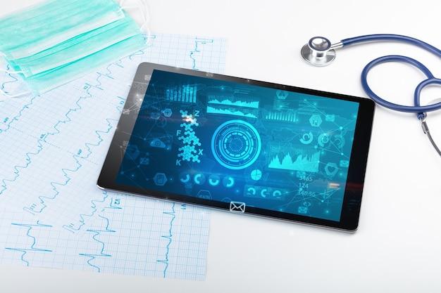 Rapport en celsamenstellingsconcept met moderne medische technologie