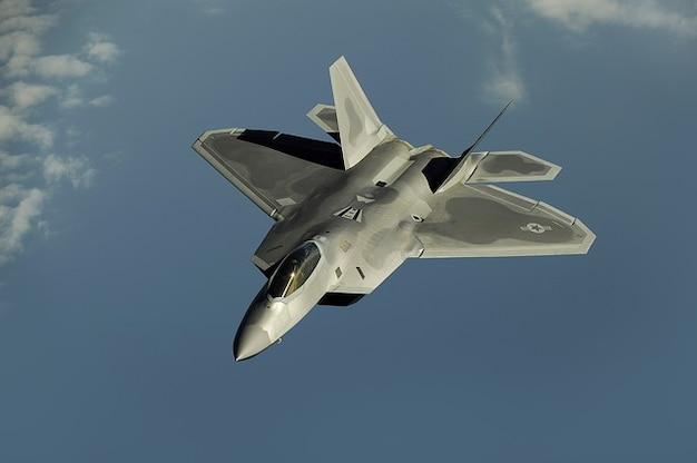 Raptor gevechtsvliegtuigen jet