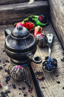 Rassen van droge thee
