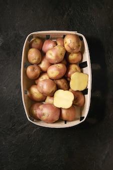 Rauwe aardappelen missen blozen