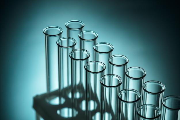 Reageerbuizen laboratorium