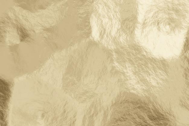 Realistische licht gouden metalen textuur abstracte achtergrond.