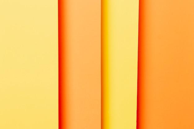 Recht patroon met oranje tinten