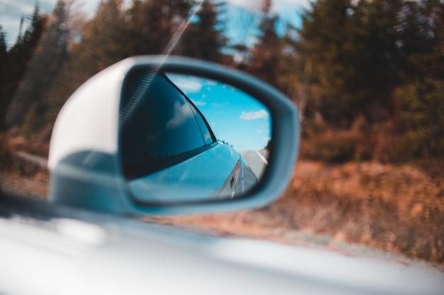 Rechter buitenspiegel van het voertuig