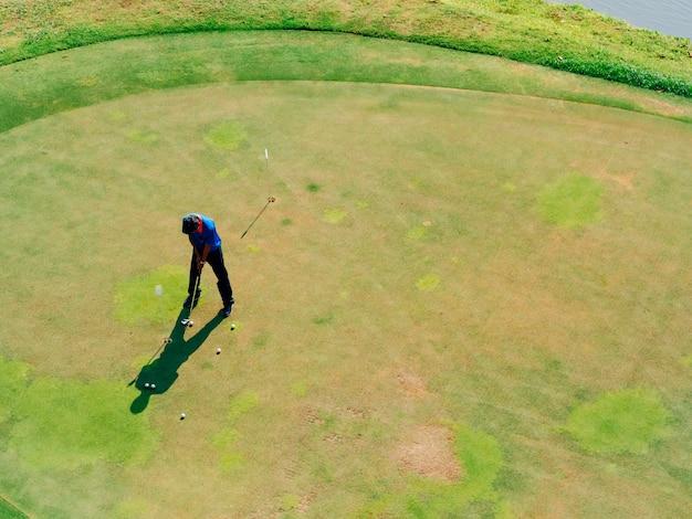 Recreatie-activiteit voor golfspelers