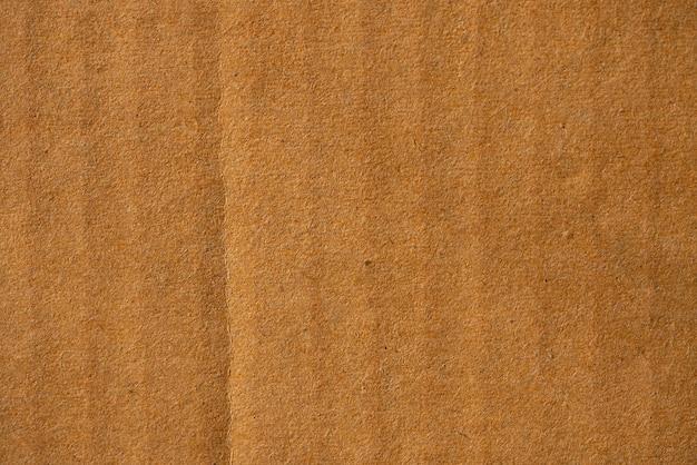 Recycle papier close-up bruine papieren textuur voor gebruik achtergrond