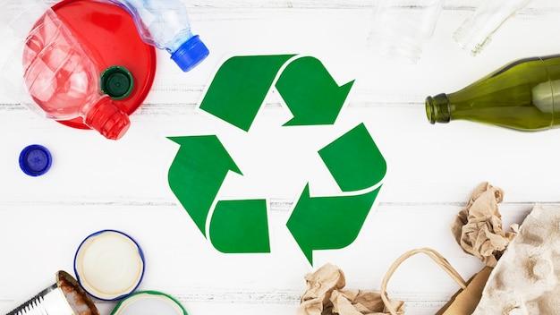 Recycle samenstelling