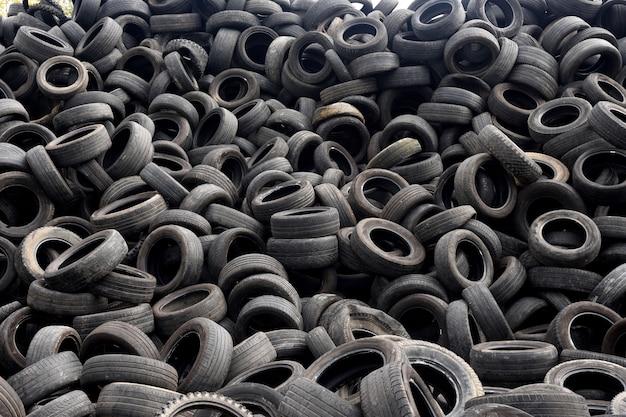 Recycling van banden