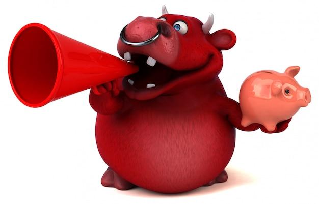 Red bull 3d illustratie