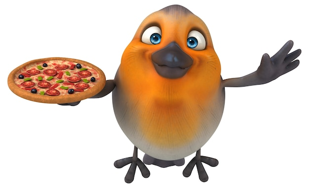 Red robin-animatie