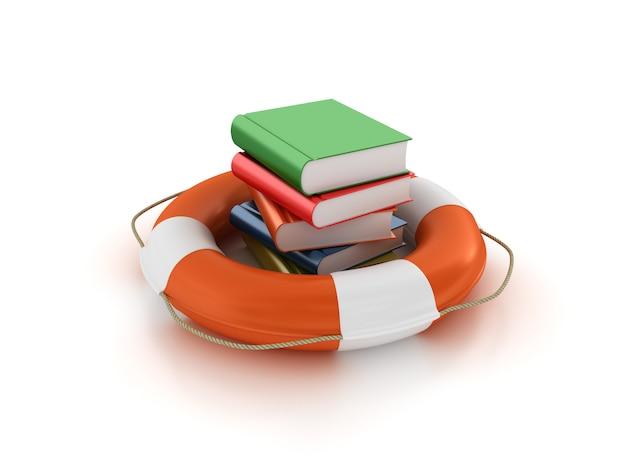 Reddingsgordel met boeken