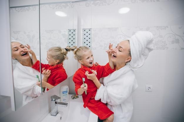Reflectie huid volwassen interieur behandeling