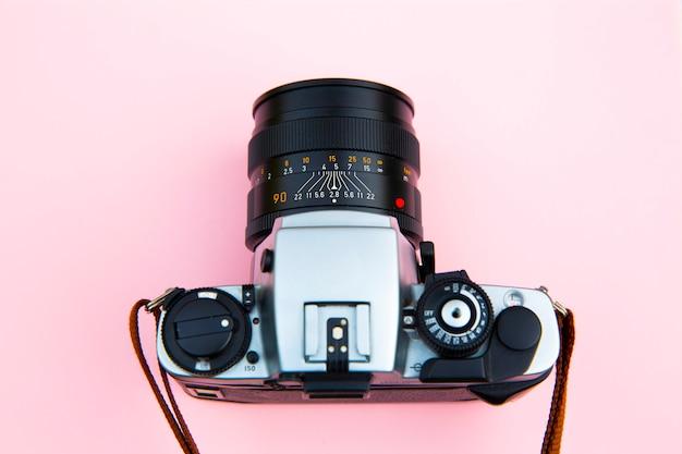 Reflexcamera met analoge fotografie