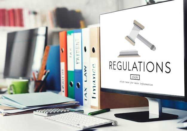 Regelgeving bedrijfsvoorwaarde juridisch protocol concept