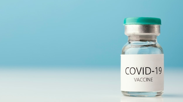 Regeling met fles voor coronavirusvaccin