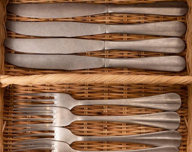 Regeling met messen en vorken