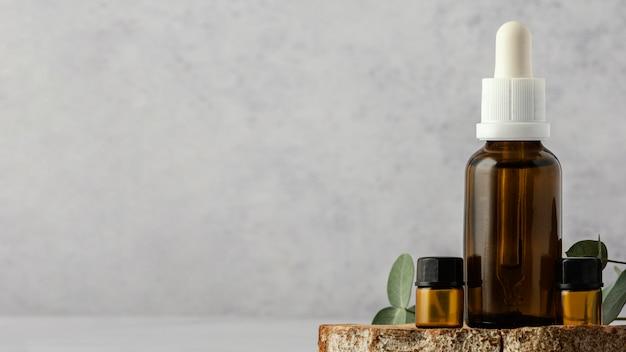 Regeling met serum en kopie ruimte