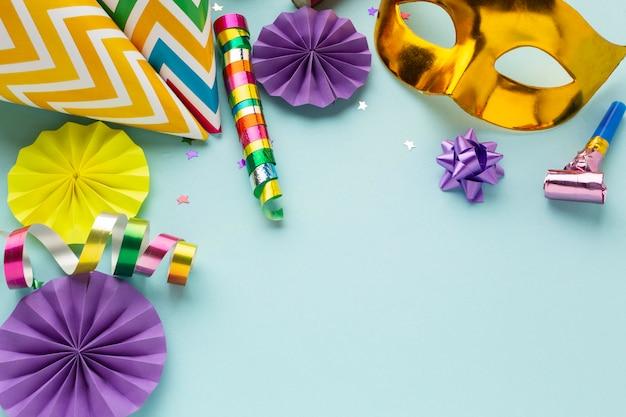 Regeling van carnaval decoraties kopiëren ruimte