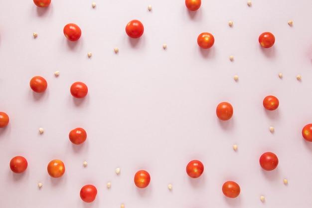 Regeling van cherrytomaten met kopie ruimte