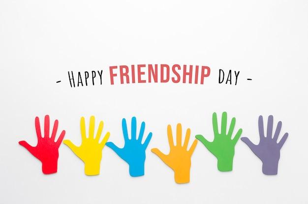 Regeling van elementen van de dag van de vriendschap van het stilleven