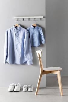 Regeling van vader en zoon kleding