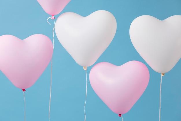 Regeling van verschillende feestelijke ballonnen