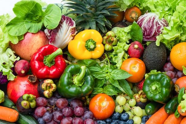 Regeling verschillende organische groenten