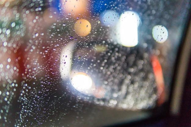 Regenachtige nacht in las vegas