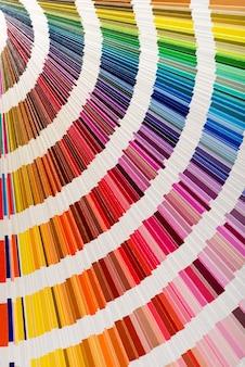 Regenbogen van kleurenwaaier