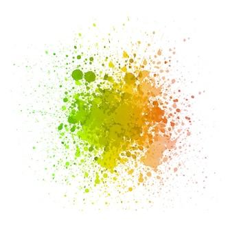 Reggaekleur met abstracte achtergrond
