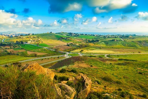 Regio zuidwest sicilië