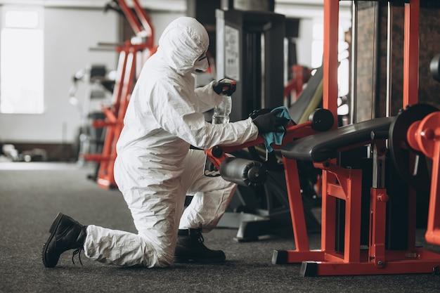 Reiniging en desinfectie van sportscholen