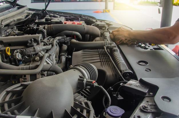 Reiniging van de motor