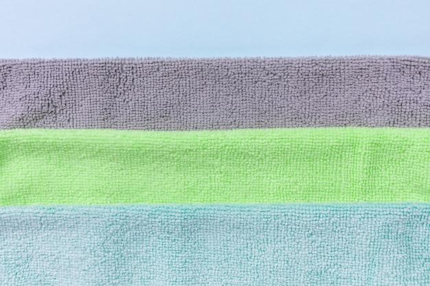 Reiniging van micro-stoffen handdoeken voor afstoffen en polijsten