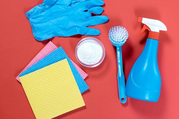 Reinigingsmiddelen van natuurlijke milieuvriendelijke producten
