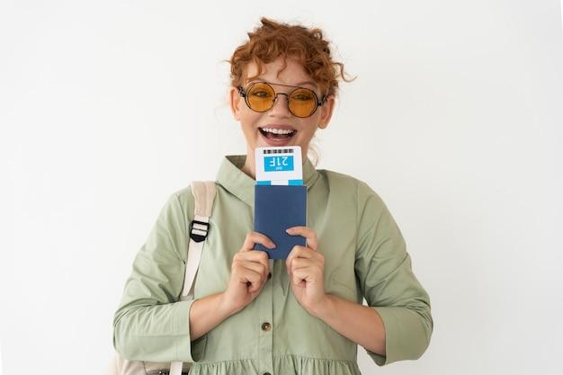Reisbureau dat reisplanning aan klanten aanbiedt Gratis Foto