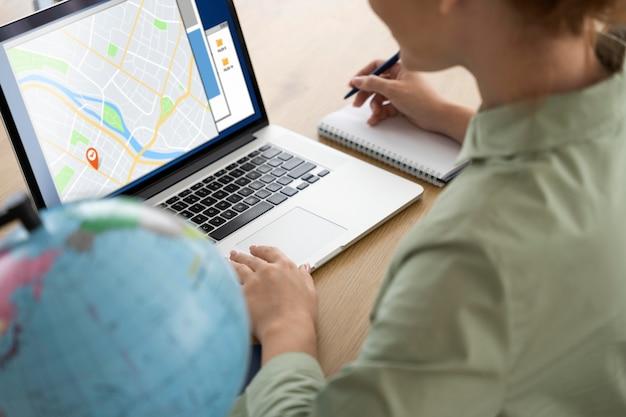 Reisbureau dat reisplanning aan klanten aanbiedt