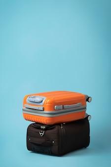 Reisconcept met koffers