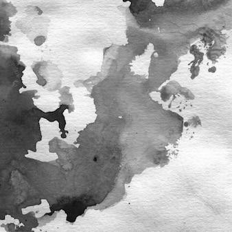 Reisdoek achtergrond silhouet grafische borstel