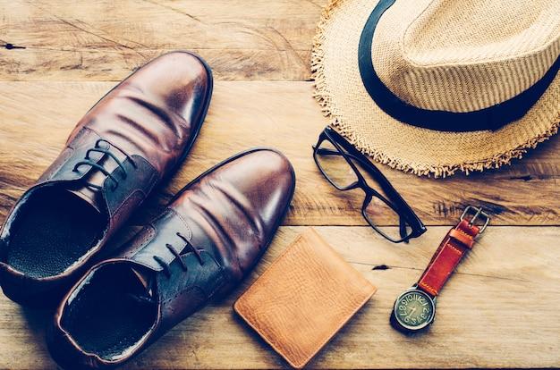 Reiskleding-accessoires voor heren kleding mee voor de reis