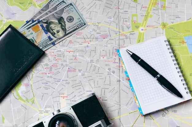 Reisplanning. vakantie en reisconcept.