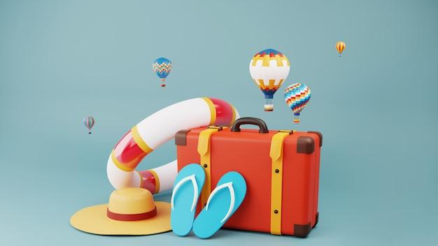 Reistassen gebruikt in het toerisme